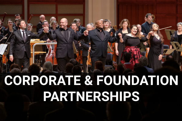 Link to corporate and foundation partnerships page