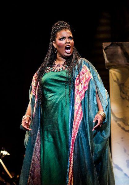 Scene from the opera Aida
